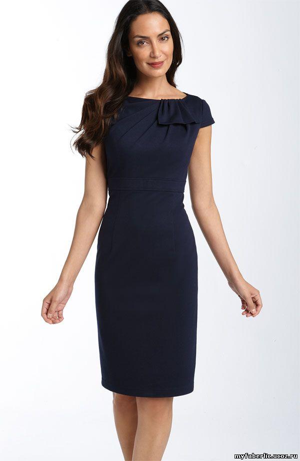 Женское Стильное Платье Деловое Купить